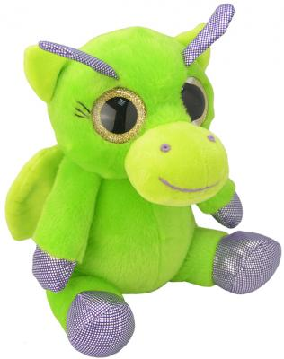 Мягкая игрушка дракон Wild Planet Дракончик K7849 искусственный мех пластик 15 см
