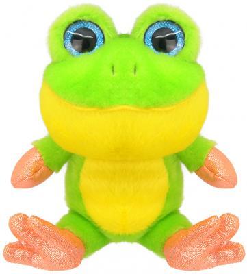 Мягкая игрушка Wild Planet Лягушонок искусственный мех зеленый 15 см K7852