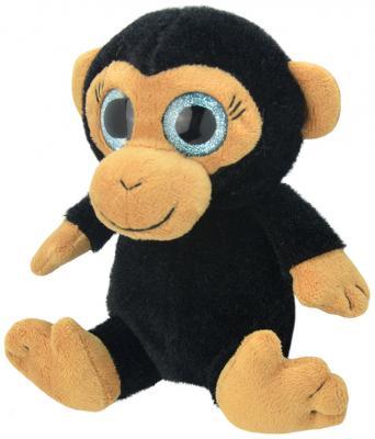 Мягкая игрушка Wild Planet Обезьянка искусственный мех черный 15 см K7862