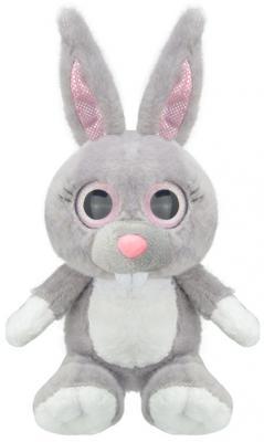 """Мягкая игрушка Wild Planet """"Зайчик"""" искусственный мех серый 15 см K7865"""