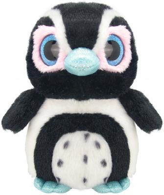 """Мягкая игрушка пингвин Wild Planet """"Пингвиненок"""" искусственный мех пластик черный белый 15 см K8162"""