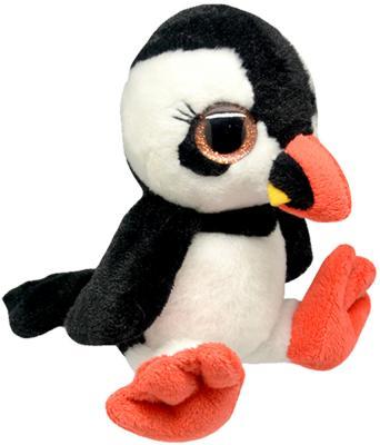 Мягкая игрушка пингвин Wild Planet Пингвин - Буревестник искусственный мех текстиль пластик черный белый 15 см K8166 мягкая игрушка собака orange чихуа kiki малиновый блеск текстиль искусственный мех розовый коричневый 25 см ld010