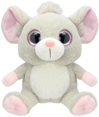 Мягкая игрушка Wild Planet Мышка искусственный мех серый 19 см K7863