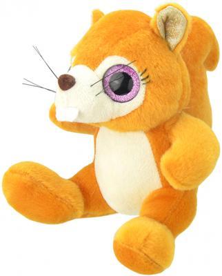 """Мягкая игрушка Wild Planet """"Белочка"""" искусственный мех текстиль оранжевый 15 см K7870"""