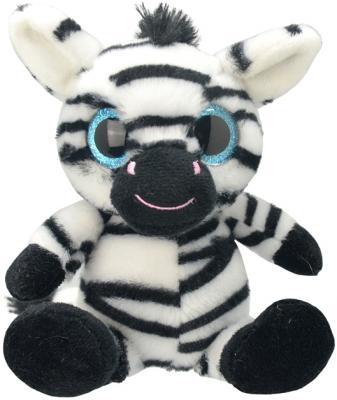 Мягкая игрушка Wild Planet Зебра искусственный мех текстиль 20 см K7873