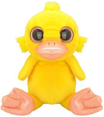 """Мягкая игрушка Wild Planet """"Утёнок"""" искусственный мех текстиль желтый 30 см K7877"""