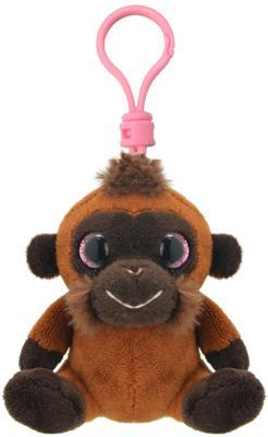 Мягкая игрушка обезьянка Wild Planet K8178 искусственный мех пластик коричневый 9 см K8178