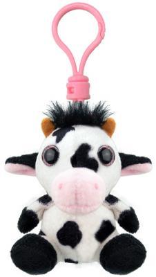 Брелок Wild Planet Корова искусственный мех белый черный 9 см K8269