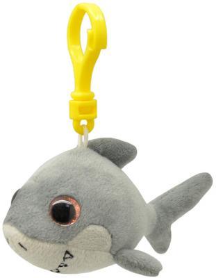 Брелок акула Wild Planet Акула искусственный мех пластик серый 9 см K8318 мягкие игрушки wild planet брелок акула 9 см