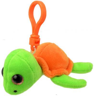 Мягкая игрушка черепаха Wild Planet Черепашка K8319 искусственный мех пластик оранжевый салатовый 9 см