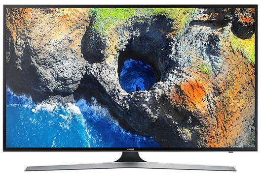 Телевизор LED 40 Samsung UE40MU6100UX черный 3840x2160 100 Гц Wi-Fi Smart TV RJ-45 неисправное оборудование разбита матрица телевизор жк samsung ue55nu7100uxru 554к smart tv