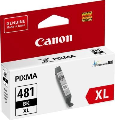 Картридж Canon CLI-481XL BK для Canon Pixma TS6140/TS8140TS/TS9140/TR7540/TR8540 черный 2047C001 картридж canon cli 481xl y для canon pixma ts6140 ts8140ts ts9140 tr7540 tr8540 желтый 2046c001