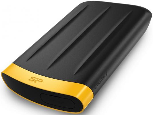 "Внешний жесткий диск 2.5"" USB3.0 2Tb Silicon Power Armor A65 SP020TBPHDA65S3K черный silicon power sp020tbphda80s3b 2tb usb 3 0"