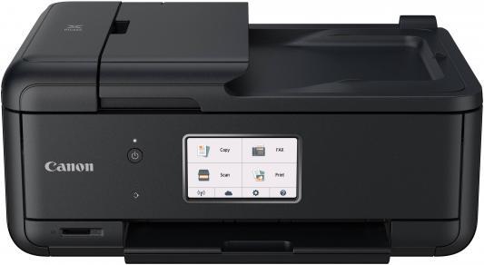 МФУ Canon PIXMA TR8540 цветное A4 15/10ppm 4800x1200 Ethernet Wi-Fi USB черный 2233C007 принтер canon pixma g1410 цветное a4 8 8ppm 4800x1200 usb черный 2314c009