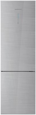 Холодильник DAEWOO RNV3310GCHS серебристый холодильник daewoo fgk51efg двухкамерный серебристый