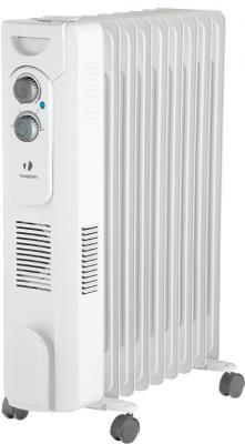 Масляный радиатор Timberk TOR 31.2912 QT 2900 Вт термостат белый