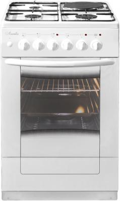 Комбинированная плита Лысьва ЭГ 1/3г01 М2С 2у белый газовая плита лысьва эг 1 3г01 мс 2у электрическая духовка черный