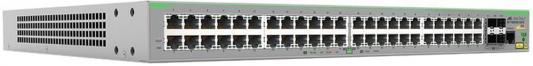 Коммутатор Allied Telesis AT-FS980M/52PS-50 управляемый 48 портов 10/100Mbps коммутатор allied telesis at fs970m 8ps 50
