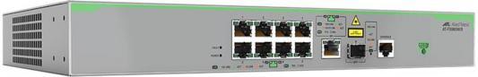 Коммутатор Allied Telesis AT-FS980M/9-50 управляемый 8 портов 10/100TX SFP коммутатор allied telesis at fs970m 8ps 50