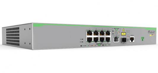 Коммутатор Allied Telesis AT-FS980M/9PS-50 управляемый 8 портов 10/100TX SFP коммутатор allied telesis at fs980m 9 50 управляемый 8 портов 10 100tx sfp