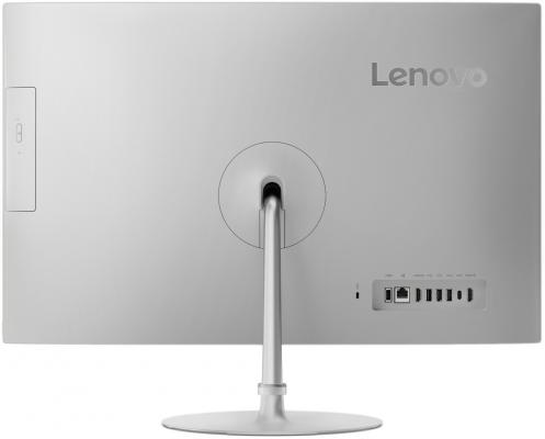 "Моноблок 23.8"" Lenovo IdeaCentre AIO 520-24IKL 1920 x 1080 Intel Core i3-7100T 4Gb 1Tb Intel HD Graphics 630 Windows 10 серебристый F0D1005SRK"