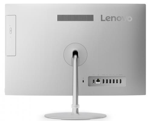 "Моноблок 21.5"" Lenovo IdeaCentre AIO 520-22IKU 1920 x 1080 Intel Core i5-7200U 8Gb 1Tb Intel HD Graphics 620 DOS серебристый F0D50067RK"