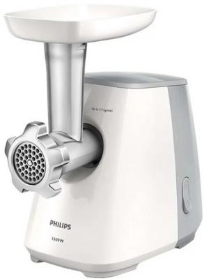 Электромясорубка Philips HR2709/20 450 Вт белый серый philips hr2709