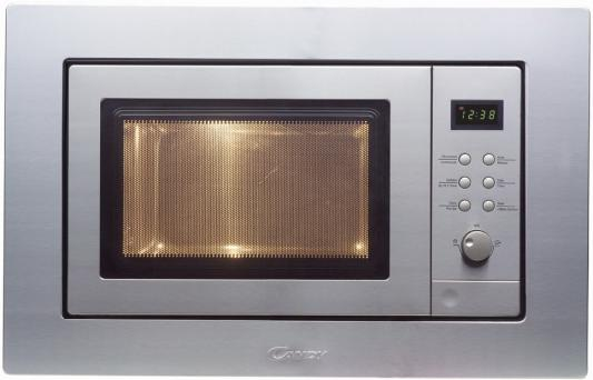 СВЧ Candy MIC 201 EX 800 Вт серебристый встраиваемая микроволновая печь candy mic 201 ex