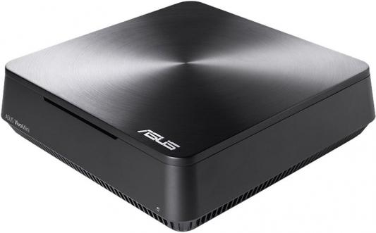 Неттоп ASUS VivoMini VM45-G021M Intel Celeron-3865U 4Gb 500Gb Intel HD Graphics 610 64 Мб DOS серый 90MS0131-M00210 неттоп asus vivopc vm42 s031m celeron 2957u 1 6ghz 4gb 500gb wifi bt noos silver