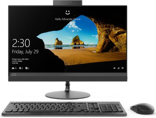 Моноблок 23.8 Lenovo IdeaCentre AIO 520-24IKU 1920 x 1080 Intel Core i5-7200U 4Gb 1 Tb 16 Gb AMD Radeon 530 2048 Мб Windows 10 Home черный F0D2003YRK F0D2003YRK