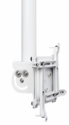Комплект монтажный поворотный Chief VPAUW для крепления проектора к подвесному потолку 8.89 кг до 34 кг белый крепление chief cpa116 потолочное шарнирное для штанги до 34 кг