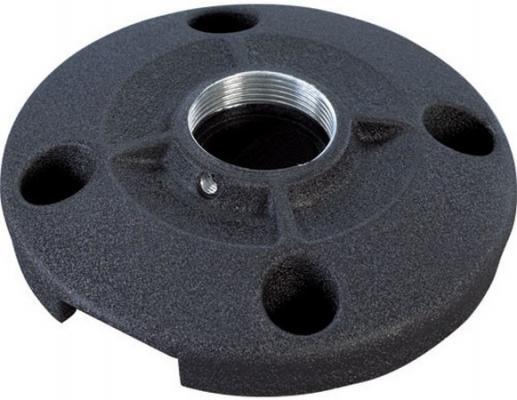 Площадка круглая Chief CMS115W для крепления штанги проектора к потолку 0.91 кг нагрузка до 226.8 кг белый крепление chief cpa116 потолочное шарнирное для штанги до 34 кг