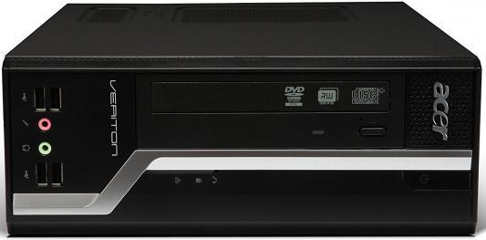 Компьютер Acer Veriton VX4110G AMD A6-PRO-7400B 4Gb 1Tb Radeon R5 Windows 10 Professional черный DT.VMAER.037
