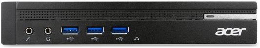 Неттоп Acer Veriton N4640G Intel Core i3-6100T 4Gb 500Gb Intel HD Graphics 530 Windows 10 Professional черный DT.VNHER.011 компьютер acer veriton vx4110g amd a6 pro 7400b 4gb 1tb radeon r5 windows 10 professional черный dt vmaer 037