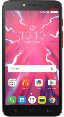 Смартфон Alcatel Pixi 4 Plus Power 5023F черный 5.5 16 Гб Wi-Fi GPS 3G смартфон alcatel pixi 4 power plus pure white 5023f