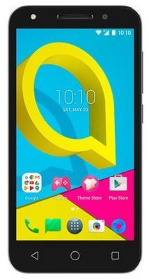 Смартфон Alcatel U5 HD 5047D черный 5 8 Гб LTE Wi-Fi GPS 3G смартфон philips xenium s327 синий 5 5 8 гб lte wi fi gps 3g