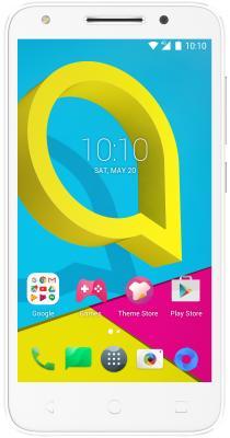 Смартфон Alcatel U5 5044D белый 5 8 Гб LTE Wi-Fi GPS 3G смартфон asus zenfone live zb501kl золотистый 5 32 гб lte wi fi gps 3g 90ak0072 m00140