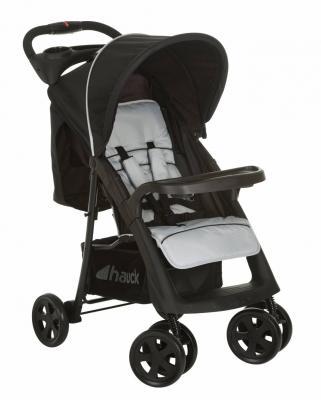 Коляска прогулочная Hauck Shopper Neo II  (caviar/silver) прогулочная коляска baby care shopper grey