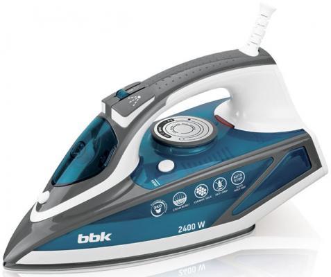 лучшая цена Утюг BBK ISE-2402 2400Вт синий