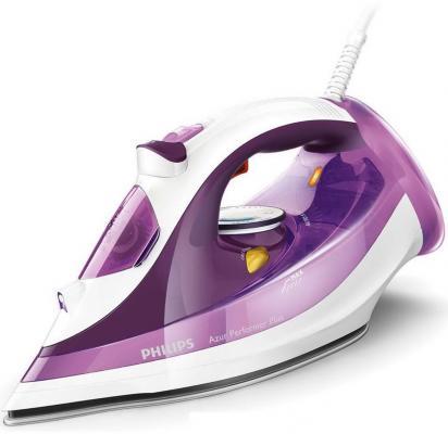 Утюг Philips GC4519/30 2400Вт фиолетовый белый недорого