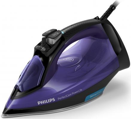 Утюг Philips GC3925/30 2500Вт синий чёрный цены