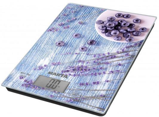 Весы кухонные Marta MT-1636 рисунок черничная россыпь