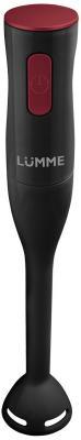 Блендер погружной Lumme LU-1831 500Вт чёрный красный