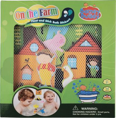 Стикеры для ванны Barney&Buddy Веселая ферма BB012 200050 набор для ванны веселая ферма от 2 лет