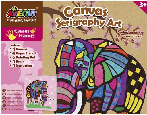 Набор для творчества Avenir «Шелкография» Слон CH1342 от  лет