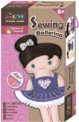 Набор для шитья Avenir Балерина CH1382 от 6 лет наборы для шитья avenir набор для шитья балерина