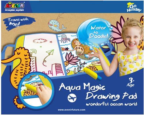 Волшебная доска для рисования водой Avenir Удивительный мир океана GH4025 от 3 лет наборы для рисования avenir набор для рисования