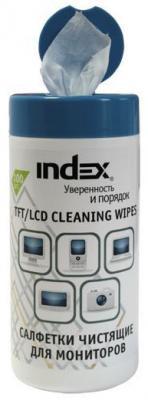 Чистящие салфетки Index ICCW02100G 100 шт 100