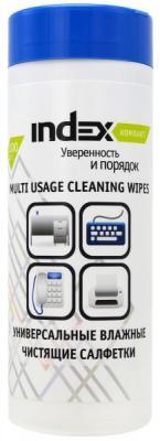 Чистящие салфетки Index ICCW01100M/R 100 шт чистящие салфетки index iccw01100g r 100 шт