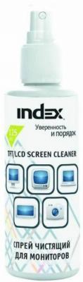 Спрей-очиститель Index ICCS125G 125 мл depilflax увлажняющая эмульсия спрей 125 мл увлажняющая эмульсия спрей 125 мл 125 мл
